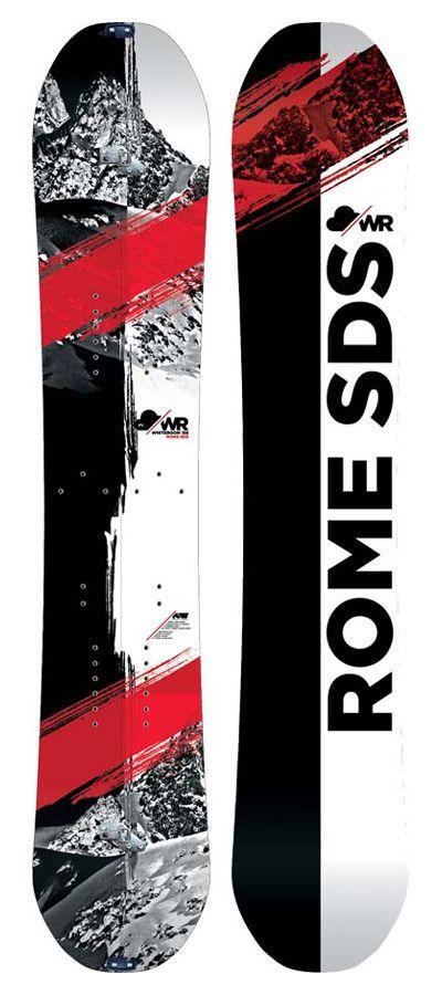 Rome Whiteroom Snowboard | Rome Snowboard Design Syndicate 2015