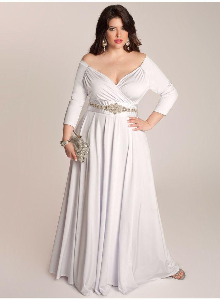 Vestidos de novias sencillos con manga larga