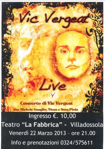 """Jazz concert in Ossola Valley at """"La Fabbrica"""" Theatre closed to Lake Maggiore"""