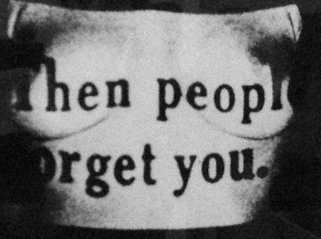 Robert Heinecken (American, 1931-2006) 'Then People Forget You' 1965: