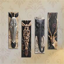 Lange Size wanddecoratie Relief Dier Schilderen Zebar Olifant Milu Herten Muurschildering Hars Muur Opknoping Ornamenten Woonaccessoires(China (Mainland))