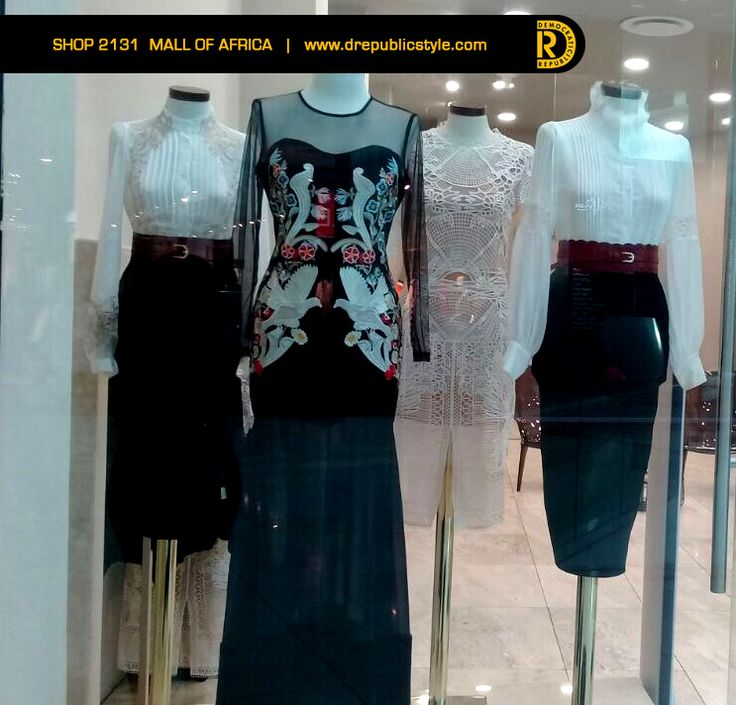 #FridayFavourites <3 Visit Mall of Africa for these looks!