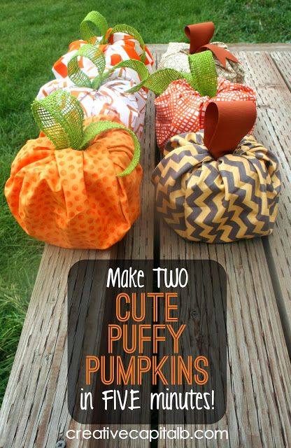 Capital B: Super Fast and Easy Puffy Pumpkins