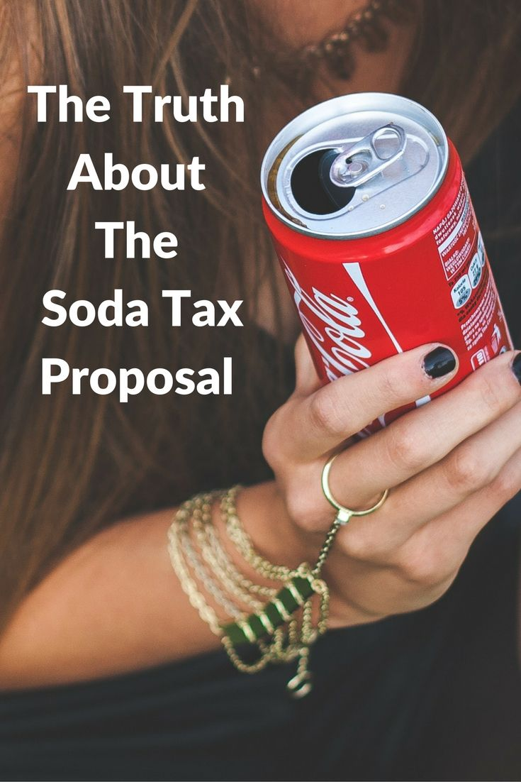 Soda tax proposal would reach national level with SWEET Act