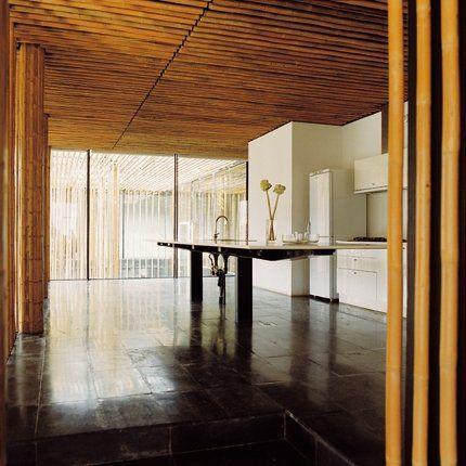 Une cuisine design et minimaliste d'inspiration japonaise