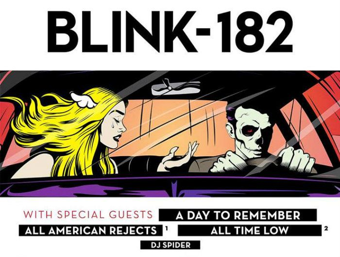 Blink-182 Sets 2016 Tour Dates with A Day To Remember,...: Blink-182 Sets 2016 Tour Dates with A Day To Remember, All-American… #Blink182