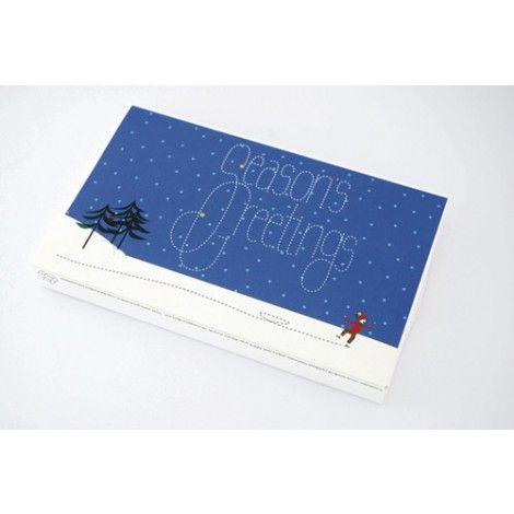 Postcarden Winter Wonderland - a card and minigarden