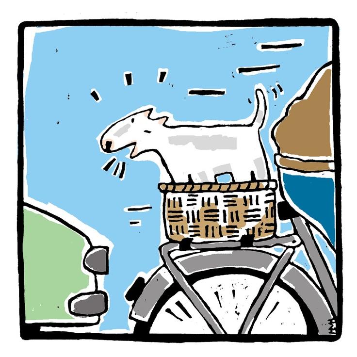 "Illustration for alphabet-book   ""Het Alfabet van de Hond Spier""   (unfortunately only in Dutch)"