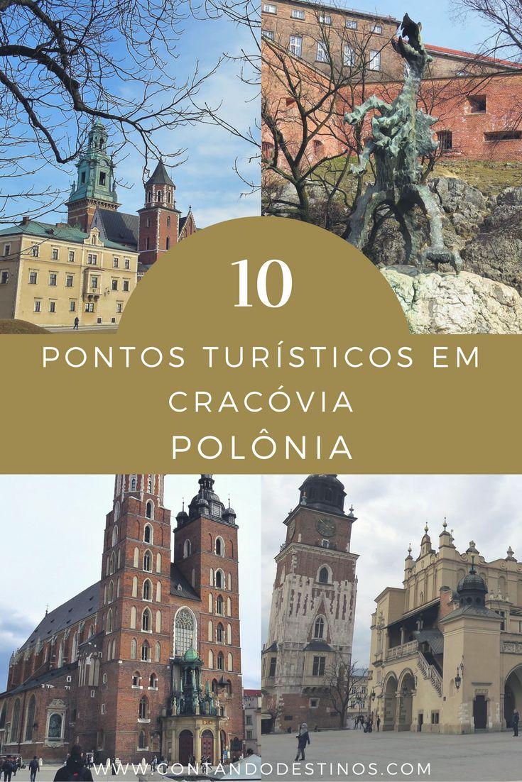 Roteiro de Cracóvia. Conheça os 10 melhores pontos turísticos de Cracóvia. Saiba o que fazer em Cracóvia aproveitando melhor a cidade