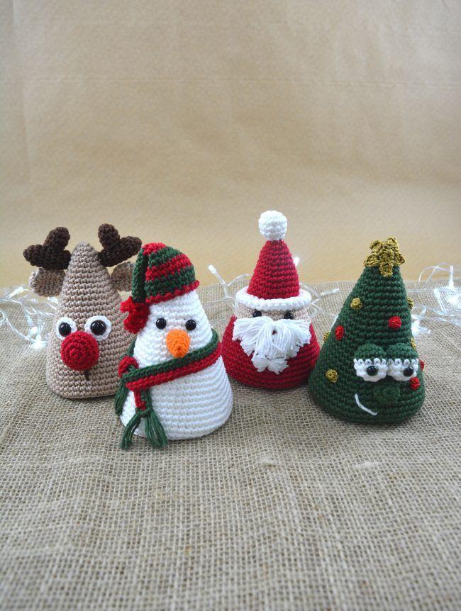 Coleção De Natal Amigurumi Círculo Sa Haekeln Pinterest