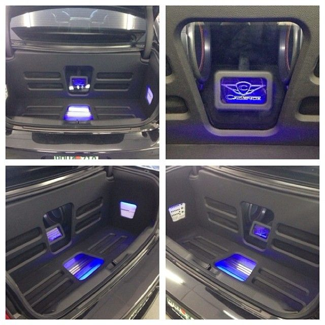 Led Trunk We Just Got Done Doing On A New Dodge Challenger