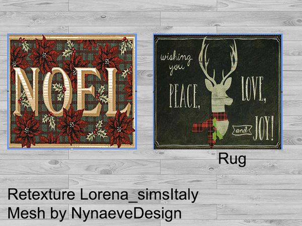 loryy1992's christmas rugs v1