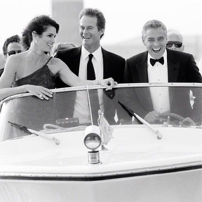 George Clooney revela cómo fue el día en el que despertó con Cindy Crawford