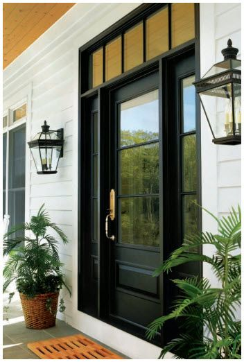 entrance door with sidelight Andersen