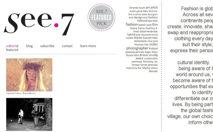Vague de Chaleur on see.7 magazine   Photographer: Thanos Houtos   Model: Henna Lintukangas (Ford)   Make-up : Stefi Bazavan  All Clothing: Christina Skarpeli