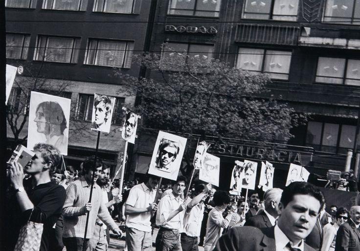 Czechoslovakia,Peter Procházka: 1. máj 1969