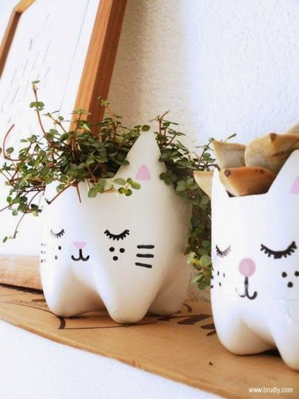 10 Ideas para decorar rincones del hogar con cosas recicladas!