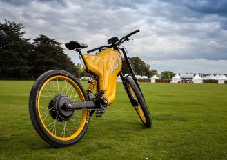 Insanely fast electric bike (requires a motorcycle license to unlock and use the higher gears)