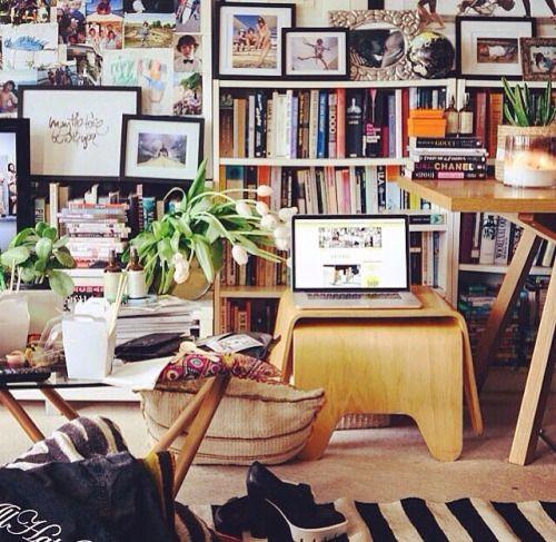 parisnightsandnewyorklights: Tash Sefton's home. As amazing as her style.