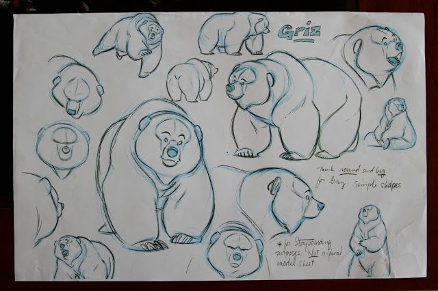 Character Design With Aaron Blaise : Brother bear the arts and concept art on pinterest