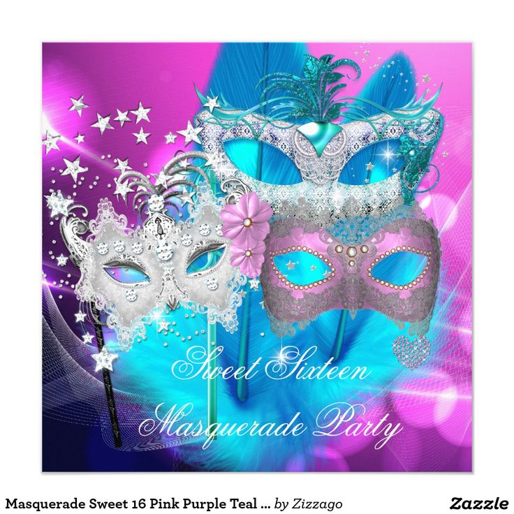 127 best Masquerade Party Invitations images on Pinterest ...