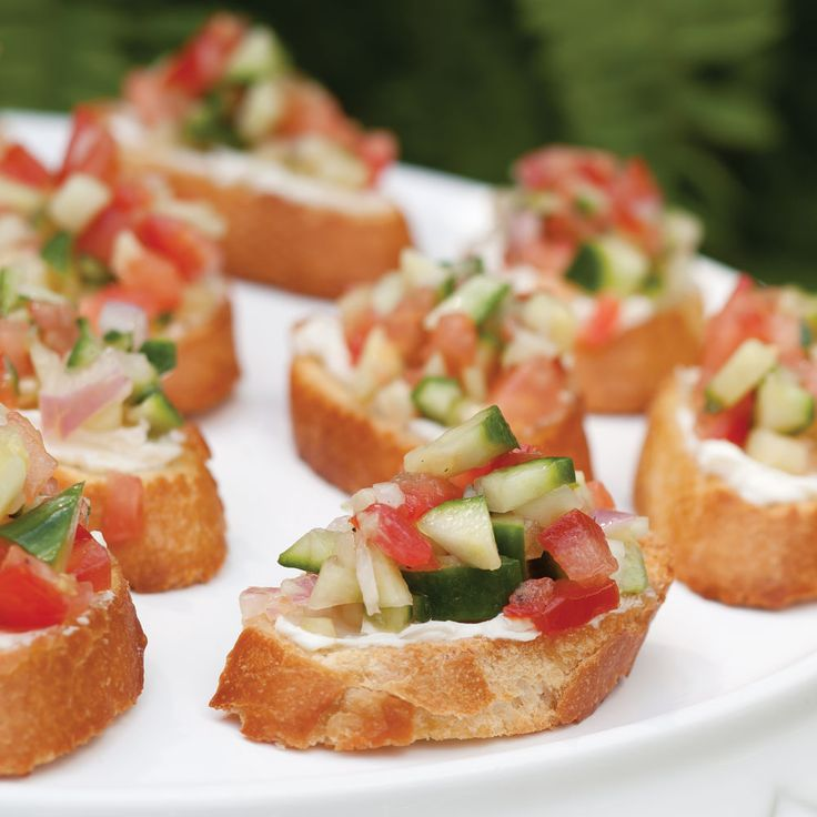 With fresh ingredients and full flavor, our Cucumber Salad Crostini are a great appetizer to serve during the Kentucky Derby.