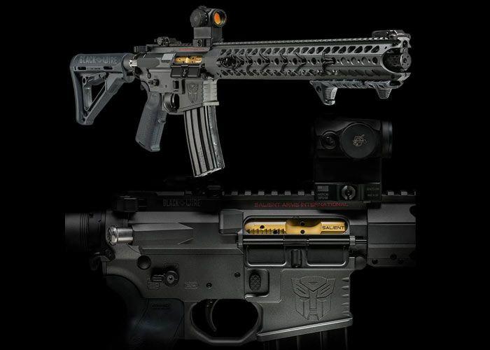 Transformers 4 Salient Arms GBB Rifles Soon?