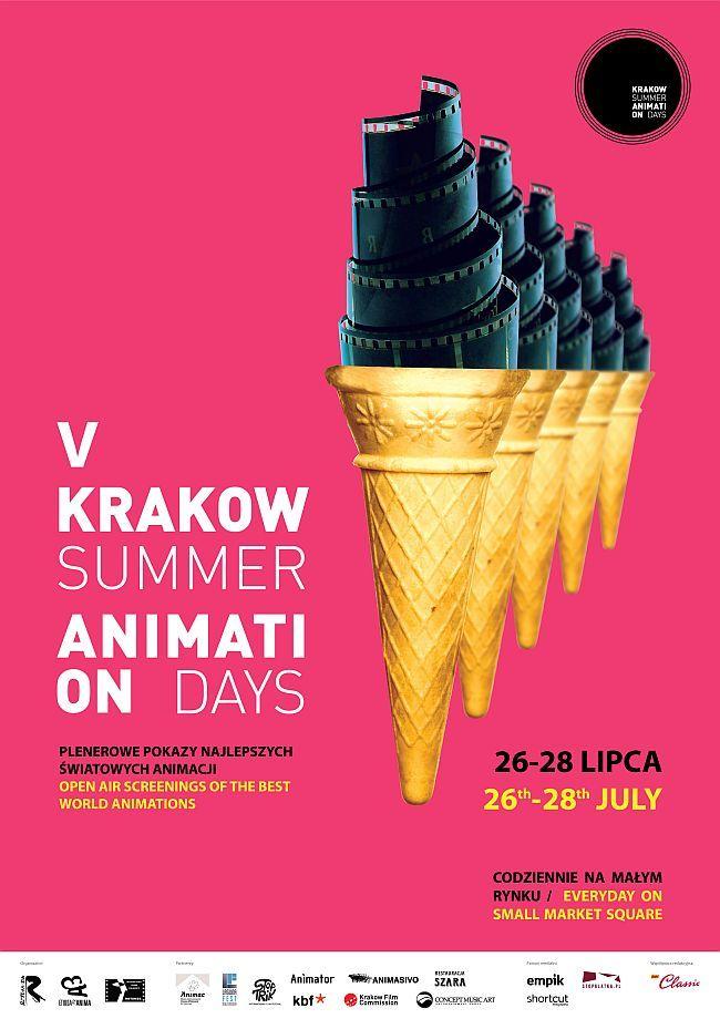 5. Krakow Summer Animation Days, 26–28 lipca 2013 r., Mały Rynek w Krakowie. Wstęp wolny na wszystkie projekcje!