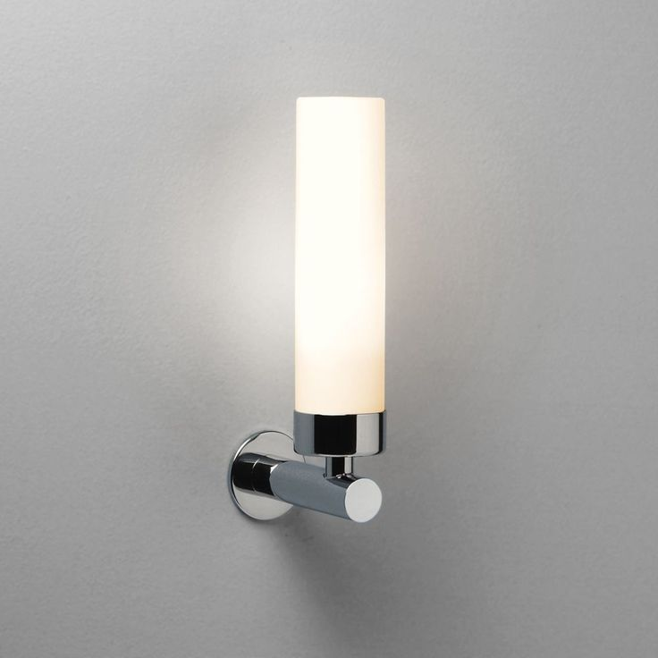 9 best bath lights dimmable images on pinterest light bathroom bathroom wall lights the tube wall mirror light has a polished chrome finish and frosted glass shade can be mounted to a mirror with a separate aloadofball Choice Image