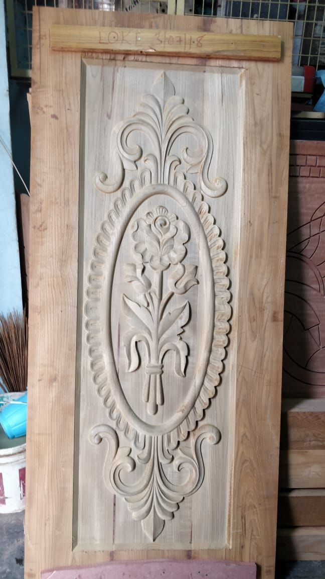 Beautiful Cnc Carved Mdf Panels To Add A Unique Touch To Your Projects Single Door Design Front Door Design Wood Door Design Wood