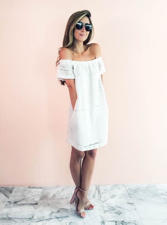 Top 25 ideas about White Summer Dresses on Pinterest | Summer ...
