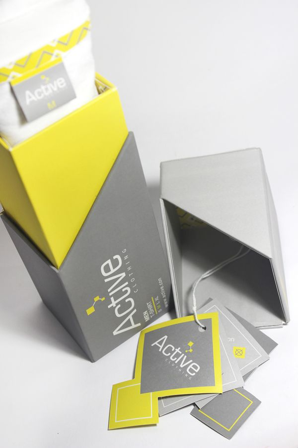 Active T-shirt Packaging on Behance | Designer by Harianto Chen PD