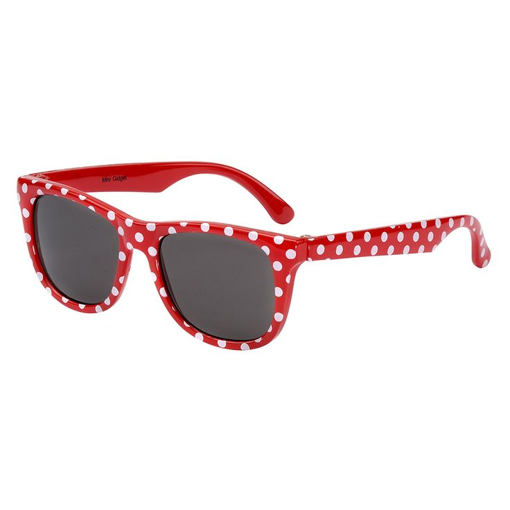 EyeTribe Minnie Gidget Sunglasses - Red Spot | Babies R Us Australia