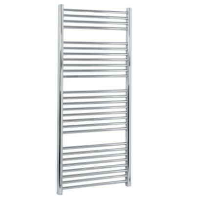 Kudox Ladder Towel Radiator Chrome Plated (H)1324 x (W)600mm, 5060069427663