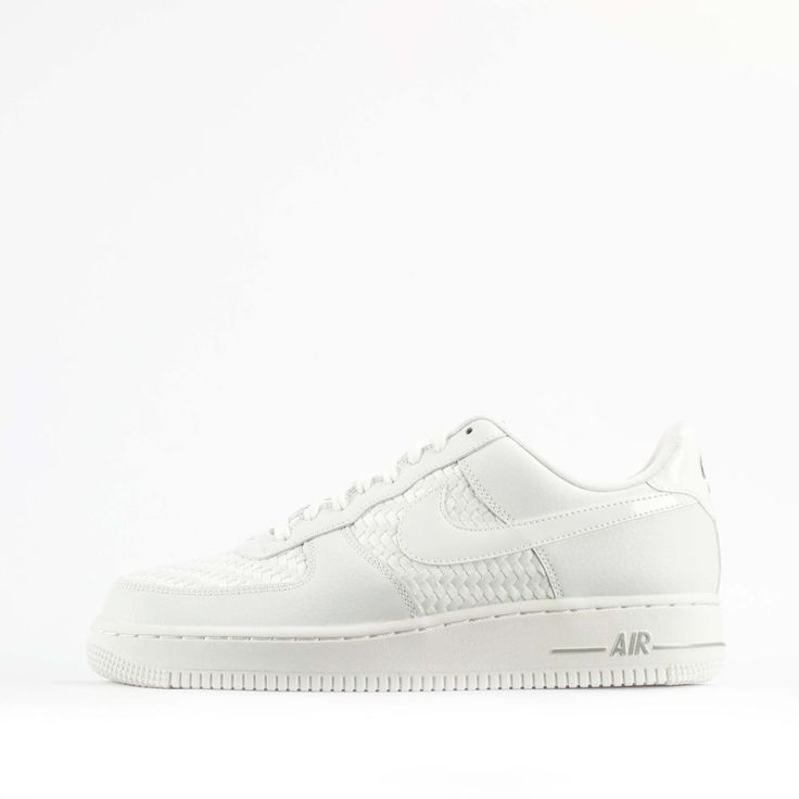 Nike Air Force 1 Low 07 LV8 Woven Mens Trainers Shoes in White #Nike #Trainers