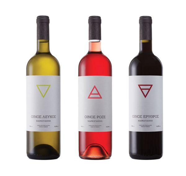 4 Elements Markogianni Winery on Packaging of the World - Creative Package Design Gallery