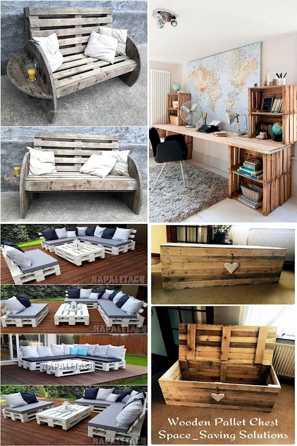 Pallet Furniture Designs | Where Can You Buy Wood Pallets ...