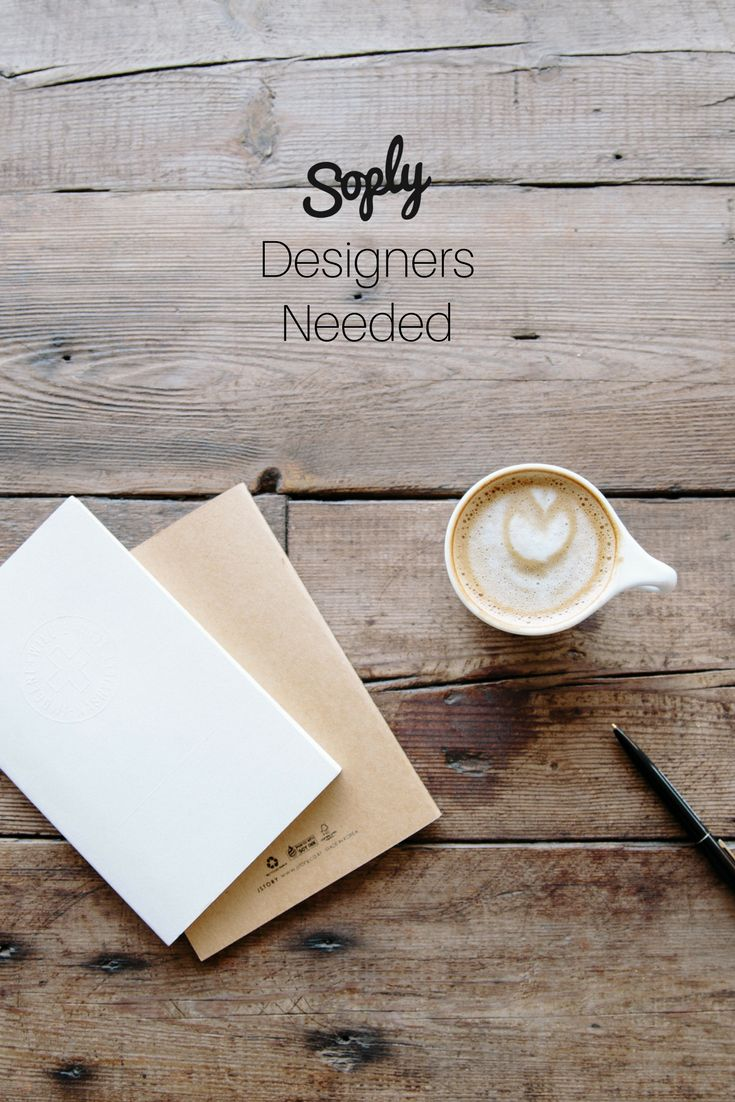#Designers needed for various #jobs on Soply! See all the #design jobs by clicking the pin!