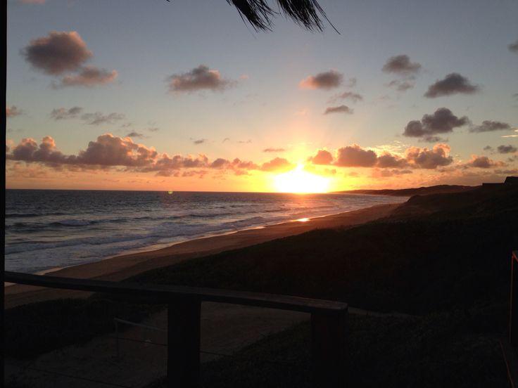 Beach sunset, another African sunset