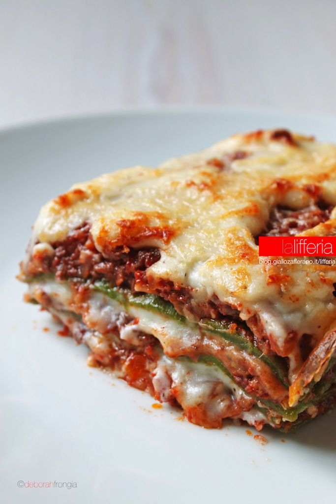 Lasagne emiliane - Emilian lasagna