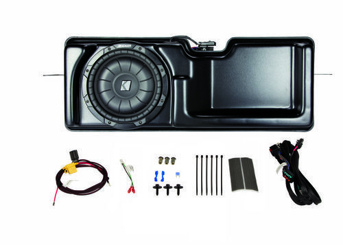 KICKER SubStage Powered Subwoofer Upgrade Kit for 2009-2014 Ford F150 Super Cab
