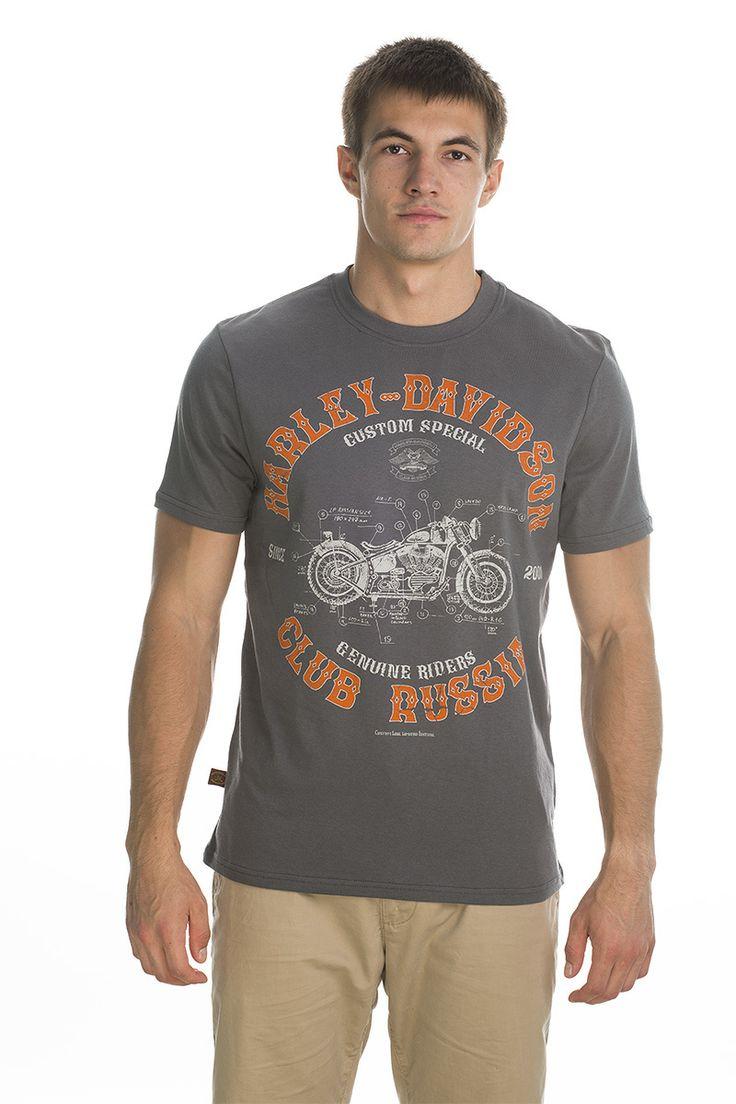 T-shirt Custom; grey.