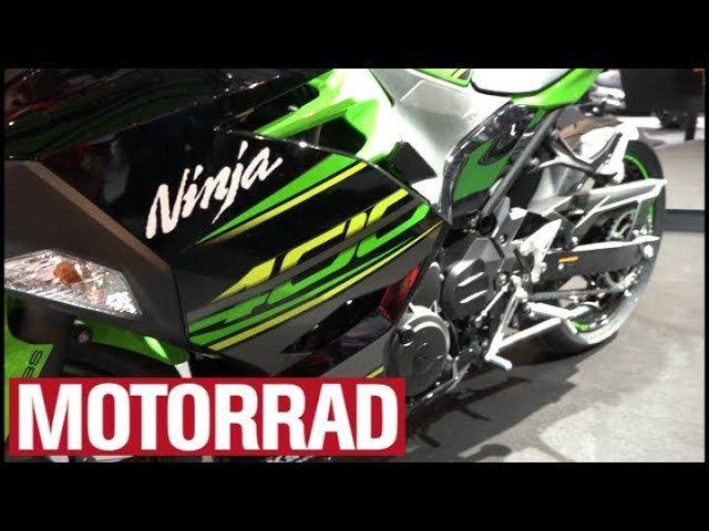 Kawasaki hat mit der neuen Kawasaki Ninja 400 ein neues Modell präsentiert, das sich ideal für Besitzer des A2-Führerscheins eignen dürfte. Mehr News und Fotos auf