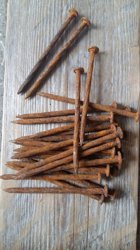 How To Get Rusty Nails Out Of Old Wood