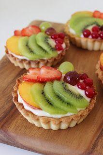 Zoet & Verleidelijk: Vruchtentaartjes