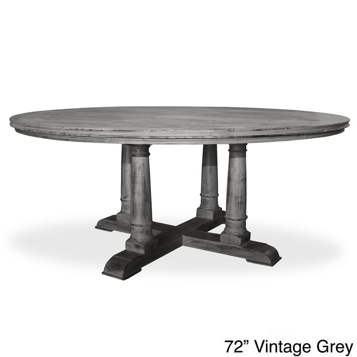 Victoria Reclaimed Wood Round Dining Table Shopping