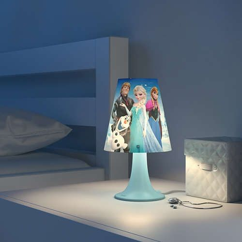 Tafellamp Philips Disney Frozen 717953516 #philipsdisney #disneylamp #kinderlamp #lamp123.nl #inspiratie #kinderkamer