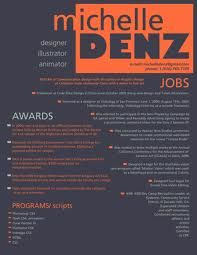 cool resumes make your resume stand out from the rest