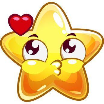 Risultati immagini per star emoticon