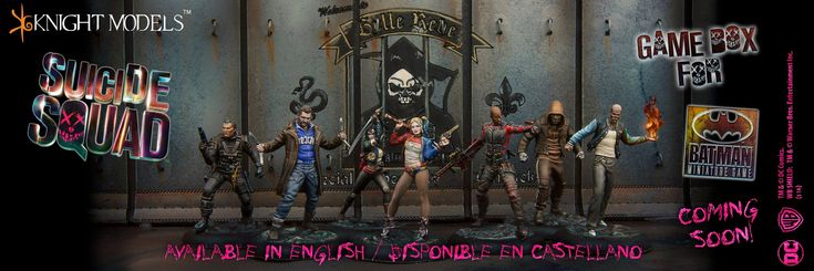 Suicide Squad Boxed Game Revealed  Tabletop Encounters